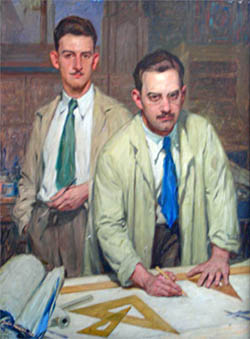 Louis J. Gross and Ralph F. Gross